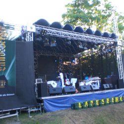 Liveband Bühne
